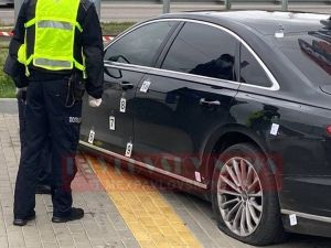 На Київщині обстріляли автомобіль першого помічника президента України