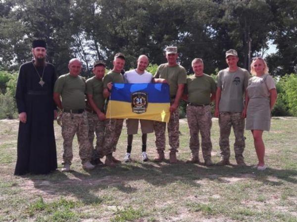 Олександр Чалапчий отримав відзнаку «ЗА жертовність і любов до України»