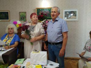 Кропивницька письменниця Антоніна Корінь відзначила день народження творчою зустріччю (ФОТО)