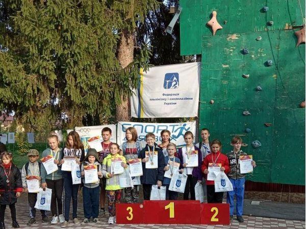 У Кропивницькому назвали імена найсильніших юних скелелазів міста