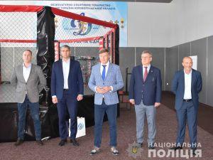 У Кропивницькому відкрили оновлений зал обласної організації спортивного товариства «Динамо»