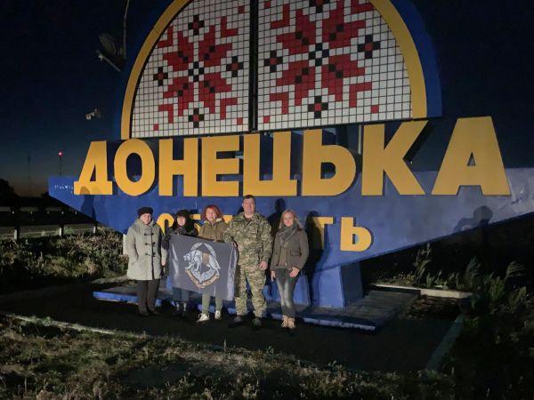 Голова облради Сергій Шульга на Донбасі привітав військових зі святом