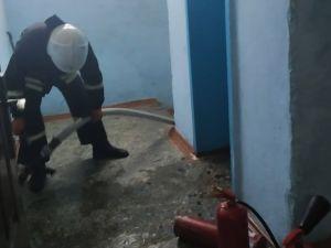У Кропивницькому горить гуртожиток (ФОТО. ВІДЕО)