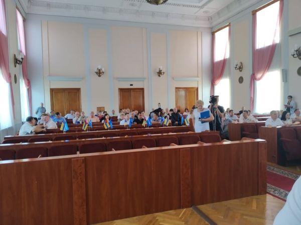 Сесія міської ради Кропивницького закінчилась, не розпочавшись