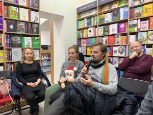 Колокниг: кропивничани зібрались у читацькому клубі (ФОТО)