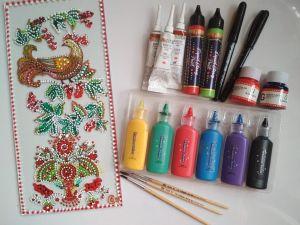 Кропивницький: Як містяни вчилися малювати на склі жар-птицю?  (ФОТО)