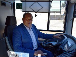 До міста прибули нові тролейбуси для новенців