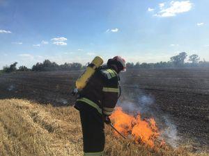 На Кіровоградщині під час пожежі отримав опіки 80-річний дідусь