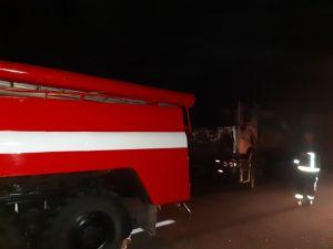 На Кіровоградщині дві вантажівки потрапили у аварію