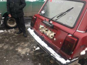 У центрі Кропивницького, біля Центрального ринку, зіткнулося два авто