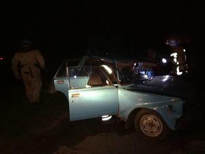 На Кіровоградщині внасліок зіткнення двох авто чоловік опинився у пастці