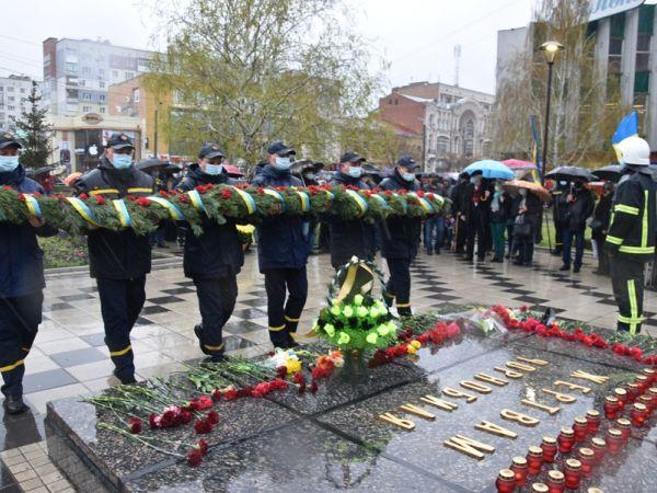 Кропивницькі рятувальники вшанували пам'ять жертв радіаційних аварій і катастроф