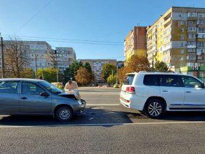 Кропивницький: На Ковалівському мосту сталася аварія