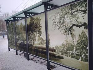 Кіровоградщина: Тепер центральні зупинки Олександрії прикрашені вітражами (ФОТО)