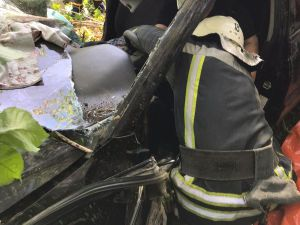 На трасі біля села Пантаївка під час аварії постраждала водійка (ФОТО)