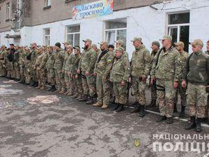 Бійці роти «Святослав» вирушили до зони проведення Операції Об'єднаних сил