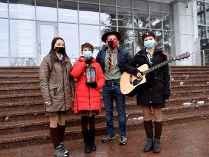 Вифлеємський вогонь миру прибув до Кропивницького