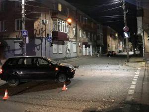 У центрі Кропивницького сталося зіткнення авто