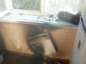 Кропивницький: на пожежі вогнеборці врятували дві людини