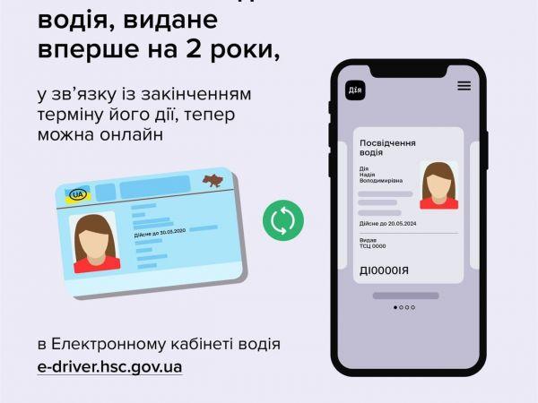 Як обміняти онлайн посвідчення водія?