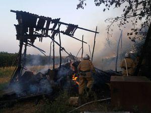 У селах Кіровоградщини загоряються сінники