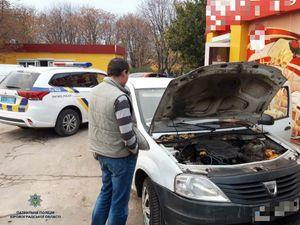 Кропивницькі патрульні затримали автівки з ознаками підробки