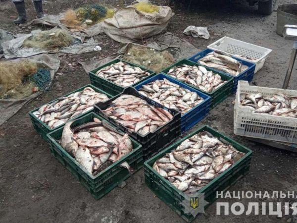 На Кіровоградщині поліцейські разом з рибоохороною затримали браконьєрів