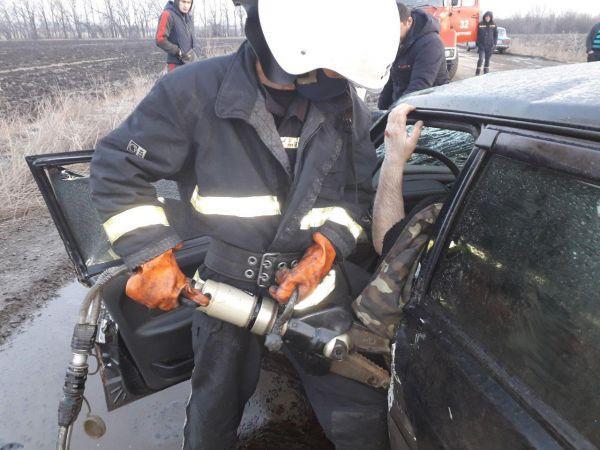 На Кіровоградщині сталася аварія з постраждалим