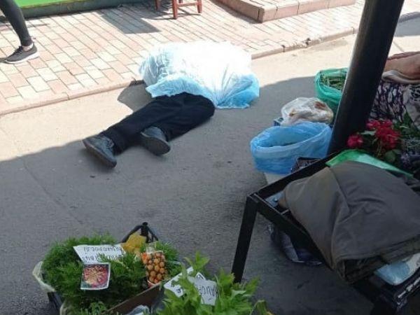 У Кропивницькому на ринку Черемушки раптово помер чоловік (ФОТО)