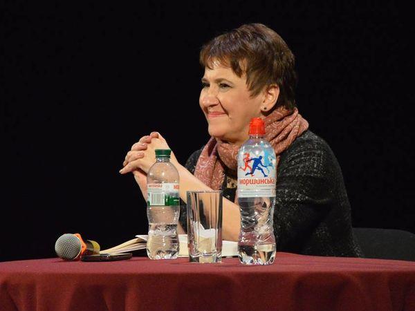 Оксана Забужко вперше побувала у Кропивницькому та презентувала свої нові книги (ФОТО)