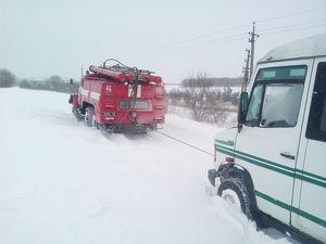 Кіровоградщина: Рятувальники доставили породіллю до Долинської районної лікарні