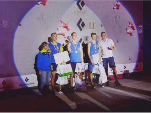 Збірна Кіровоградської області посіла третє місце на чемпіонаті України зі скелелазіння