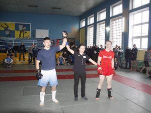 Кропивницькі рятувальники вибороли «золото» на змаганнях з панкратіону