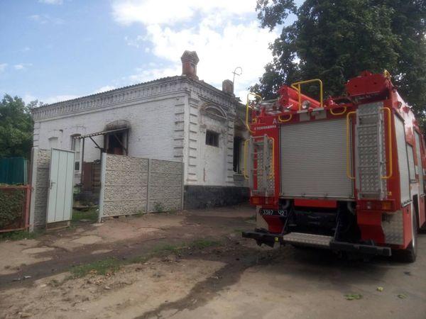 На Кіровоградщині у своєму будинку під час пожежі загинув мужчина
