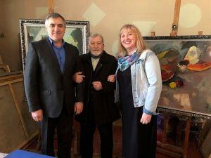 Кропивницький: Народний художник України Михайло Надєждін відзначає ювілей