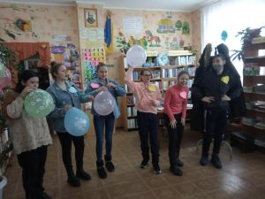 Кропивницький: У дитячій бібліотеці підлітки святкували день Валентина