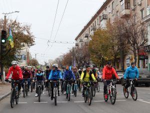 Як у Кропивницькому закривали цьогорічний велосезон (ФОТО, ВІДЕО)