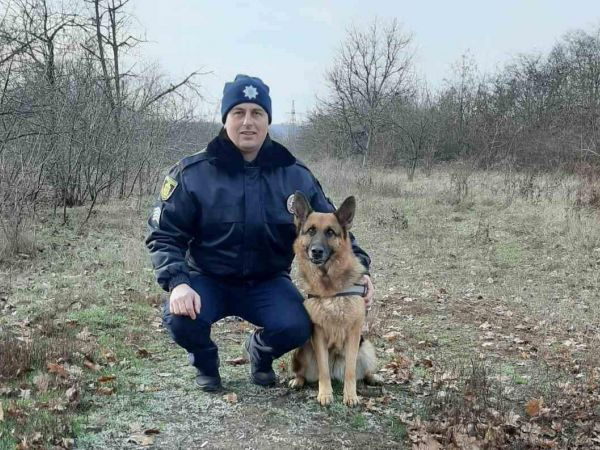 Кіровоградщина: Поліцейська вівчарка оперативно взяла слід розбійників