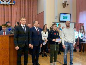 У Кропивницькому нагородили стипендією кращих спортсменів (ФОТО)