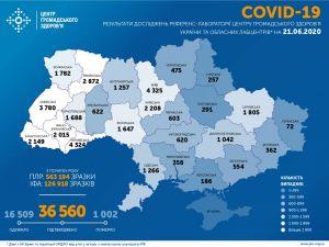 21 червня. На Кіровоградщині коронавірус виявили ще у восьми осіб