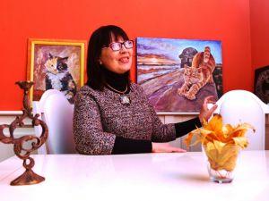 Кропивницький: Виставка місцевої майстрині Людмили Макей переїхала до філармонії