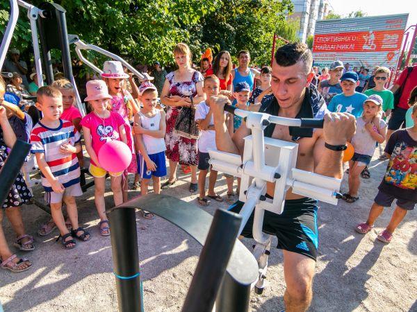 Муніципальне бюро Стрижакова презентувало спортивне містечко у Кропивницькому