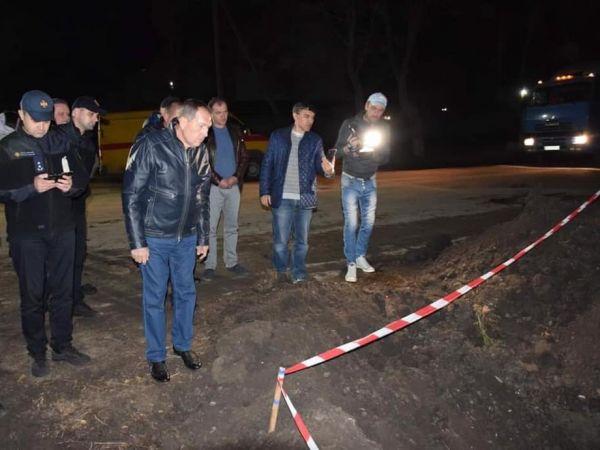 Кропивницький: Через пошкодження газопроводу більша частина міста залишилась без тепла (ФОТО)