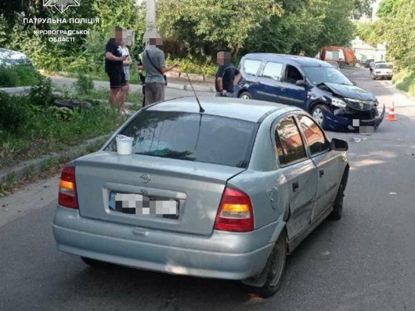 У Кропивницькому в районі санстанції сталася аварія