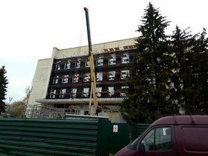 У Кропивницькому реконструюють будівлю під «Прозорий офіс», де надаватимуть найпопулярніші адмінпослуги (ФОТО)