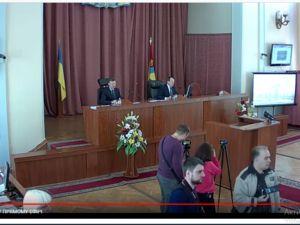 Триває перше засідання п'ятнадцятої сесії міської ради (ВІДЕО)