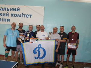 Кропивницький: Рятувальники посіли друге місце у змаганнях з настільного тенісу