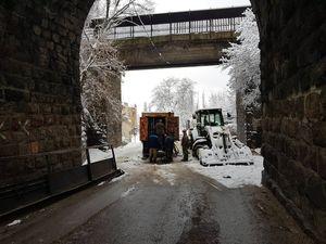 У Кропивницькому відновили проїзд під аркою