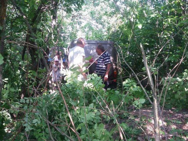 Біля Кропивницького під час ДТП УАЗ вилетів у лісосмугу