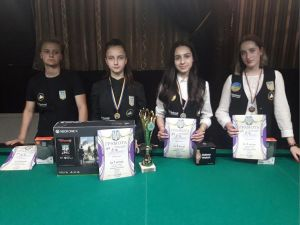 Команда більярдистів із Кропивницького виборола чотири медалі на чемпіонаті України